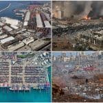 These 'Before & After' Images of Beirut Show the Extensive Damage & Destruction Caused By Explosion   Watch