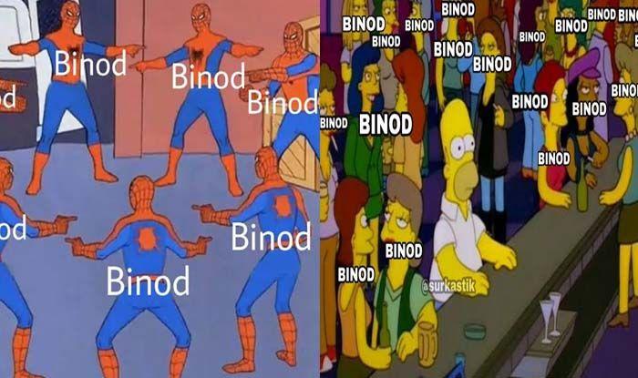 Who is Binod?