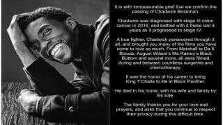 'Tribute Fit For a King', Post Announcing Chadwick Boseman's Demise Breaks Twitter Record
