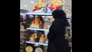 Bahrain Ganesh Idol Broken: बहरीन में बुर्का पहनी महिला ने तोड़ी गणेश प्रतिमा, वीडियो Viral