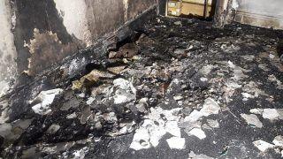 गर्लफ्रेंड को प्रपोज करने के लिए ऐसा सजाया घर, लग गई आग, पूरा घर जलकर खाक