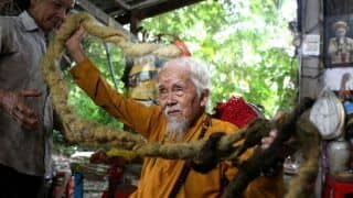 This 92-Year-Old Vietnamese Man Hasn't Cut or Washed His 5-Metre-Long Hair in 80 Years, Know Why