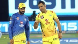 Ipl 2020 watch video ms dhoni gave his seat to csk director 4119301
