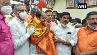PM मोदी की तारीफ करने पर डीएमके ने MLA को किया निलंबित, सेल्वम पहुंचे बीजेपी ऑफिस