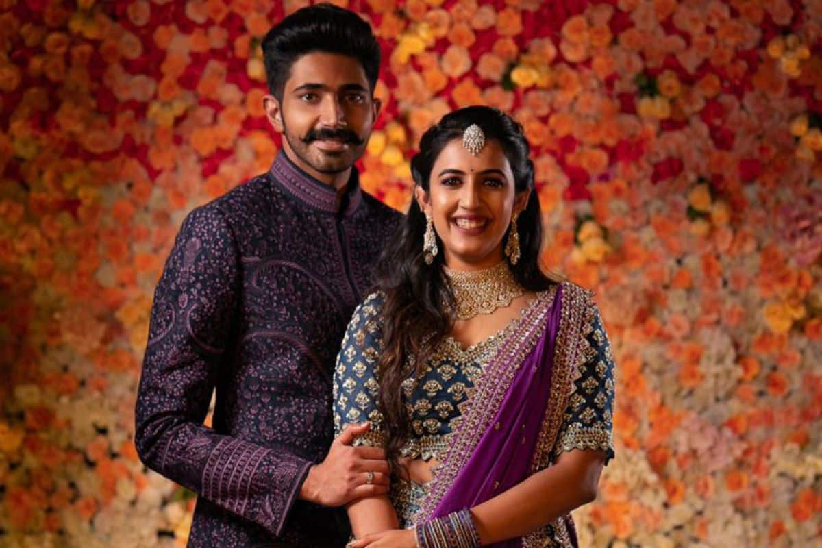 Telugu Actor Niharika Konidela Gets Engaged To Chaitanya Jv In A Low Key Ceremony India Com