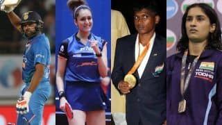Rohit Sharma, Vinesh Phogat, Manika Batra And Mariyappan Thangavelu Recommended For Khel Ratna