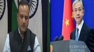 चीन ने जम्मू-कश्मीर पर दिया बयान, भारत ने कहा- दूसरों के आंतरिक मामलों में टिप्पणी का अधिकार नहीं