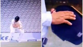WATCH | Naseem Shah Breaks Woakes' Helmet With a Nasty Bouncer