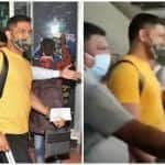 IPL 2020: MS Dhoni Arrives in Chennai Along With CSK Teammates For Training Camp | WATCH