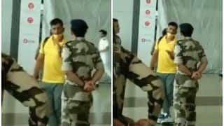 WATCH | Dhoni in Conversation With Jawans at Airport is GOLD