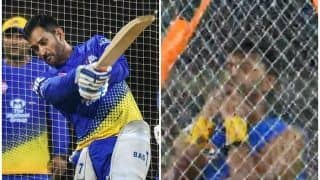 WATCH | Raina Whistles as Dhoni Smashes Monstrous Sixes During CSK Camp