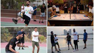 IPL 2020 News: Virat Kohli-Led RCB Play Air Hockey, Football in Team's First Bonding Session Post Quarantine in UAE | WATCH