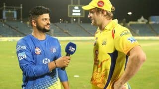 IPL 2020: Shane Watson Reacts on Suresh Raina After CSK Star Leaves For India Due to 'Personal Reasons' | WATCH