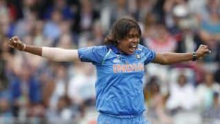 World cup 2020 is my next target but ill go series by series jhulan goswami 4105960