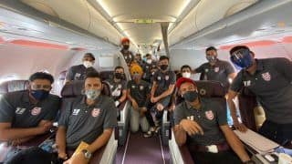 IPL 2020: Kings XI Punjab, Kolkata Knight Riders, Rajasthan Royals Land in UAE; Set Ball Rolling For Bio-secure Bubble