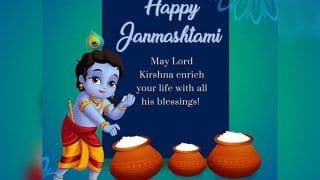 Krishna Janmashtami 2020: Date, Time of Puja, Why The Day is Important And How It's Celebrated
