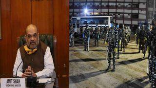 MHA ने अर्ध सैन्य बलों की 100 कंपनियों को जम्मू-कश्मीर से तत्काल वापसी का दिया आदेश