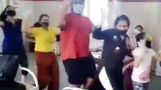 Family Dance Video: कोरोना से ठीक हुआ 19 लोगों का परिवार, तो नाचते हुए अस्पताल से एक साथ निकले, Video Viral