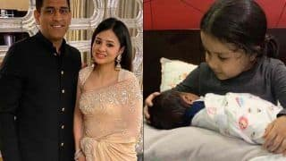 Sakshi dhoni shares picture of jiva dhoni with new born baby 4108695