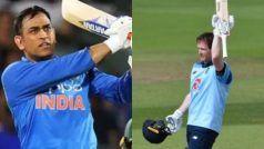 England vs Ireland 3rd ODI : महेंद्र सिंह धोनी की 'बादशाहत' खत्म, इयोन मोर्गन बने नए 'सिक्सर किंग'