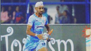 मनदीप सिंह COVID-19 से संक्रमित होने वाले छठे भारतीय हॉकी खिलाड़ी बने, बेंगलुरू में चल रहा इलाज