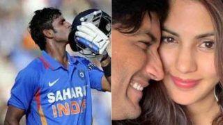 Cricketer manoj tiwary take on rhea chakraborty as ed is grilling sushant singh rajput girlfriend 4108727