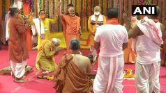 अयोध्या में भूमि पूजन सम्पन्न, प्रधानमंत्री नरेंद्र मोदी ने श्री राम मंदिर निर्माण की आधारशिला रखी