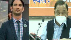सुशांत सिंह राजपूत ने सुसाइड नहीं की थी, मर्डर हुआ था, किसी को बचा रही है महाराष्ट्र सरकार: पूर्व CM राणे