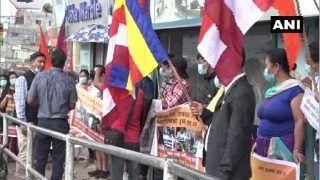 हिंदुओं पर अत्याचार: नेपाल के लोगों ने पकिस्तानी दूतावास के सामने किया विरोध प्रदर्शन