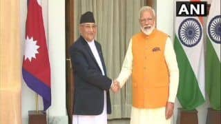 Amid Strain in Ties, Nepal PM Oli Calls up Modi; Conveys Greetings on 74th Independence Day