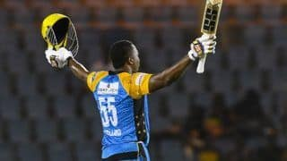 Cpl 2020 kieron pollards blasting inning help trinbago knight riders steal win from barbados tridents 4126087