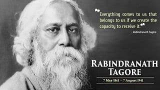 Remembering Rabindranath Tagore on His Death Anniversary: 10 Quotes by The Bard of Bengal