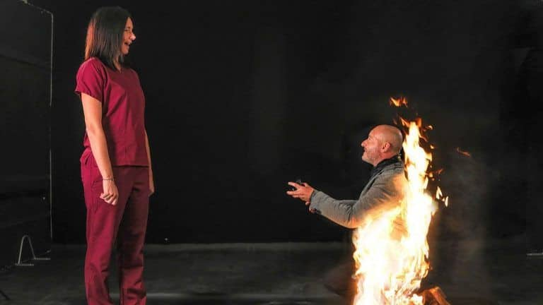 Burning Love! UK Stuntman Lights Himself on Fire While Proposing to His Girlfriend | Watch