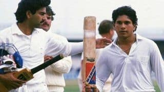 This Day in History: Sachin Tendulkar Slams His First International Hundred in 1990 Against England | WATCH VIDEO