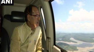 मध्य प्रदेश में बाढ़ से हालात खराब, मुख्यमंत्री शिवराज सिंह ने 5 जिलों का हवाई सर्वेक्षण किया