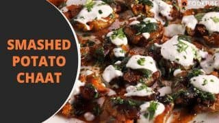 Smashed Potato Chaat Recipe: Here is How to Prepare This Delicious Appetizerat Home