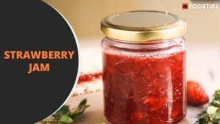 Watch: This is The Easiest And Quickest Way to Make Strawberry Jam at Home