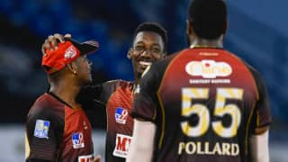 Cpl 2020 trinbago knight riders beats guyana amazon warriors by 7 wickets to register 5th consecutive win in the tournament 4124165