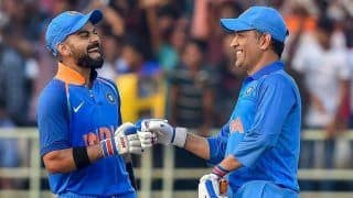 Dhoni Retires: Virat Kohli 'Tips Hat' to MS Dhoni After Former India Captain Announces International Retirement, Says 'World Has Seen Achievements, I've Seen The Person'