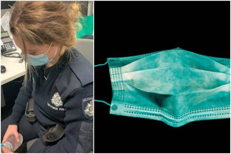 Covidiot! Australian Woman Smashes Police Officer's Head Into Concrete When Told to Wear a Mask