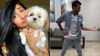 जन्मदिन पर मंगेतर धनश्री वर्मा के इशारों पर 'स्लो मोशन' में नाचे थे चहल, ट्रेंड हो रहा है VIDEO