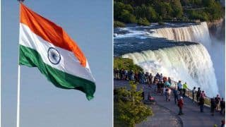 Independence Day 2020: In a First, Indian Flag to be Hoisted at the Iconic Niagara Falls on August 15