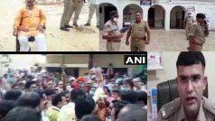 यूपी: BJP  विधायक ने खुद की पिटाई का पुलिस पर लगाया आरोप, थाने के सामने समर्थक जुटे