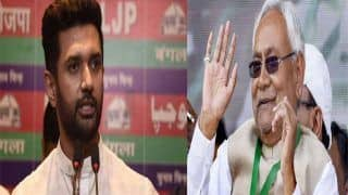 Bihar Assembly Election 2020: Nitish Will Stand With 'Hands Folded, Head Bowed' Before Tejashwi, Paswan's Stinging Attack on CM