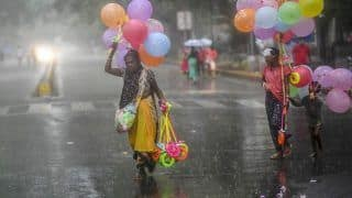 Heavy Rains Lash Parts of Delhi Bringing Much-needed Relief