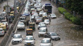 Heavy Rains Lash Parts of Delhi, Cause Traffic Snarls, Waterlogging