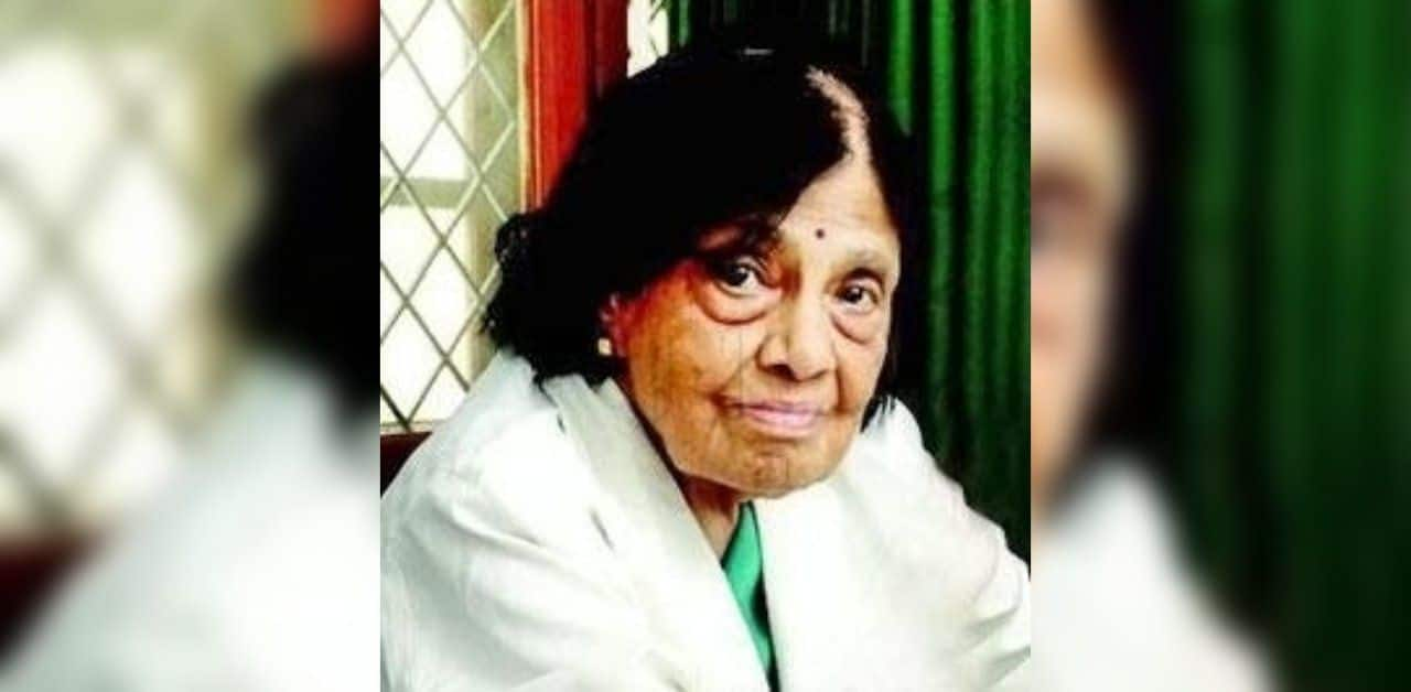 Dr S Padmavati India S First Female Cardiologist Passes Away Due To Covid 19 At 103 India Com
