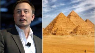 Elon Musk Claims That Pyramids Were 'Obviously' Built by Aliens, Gets Invite From Egypt to Visit Them