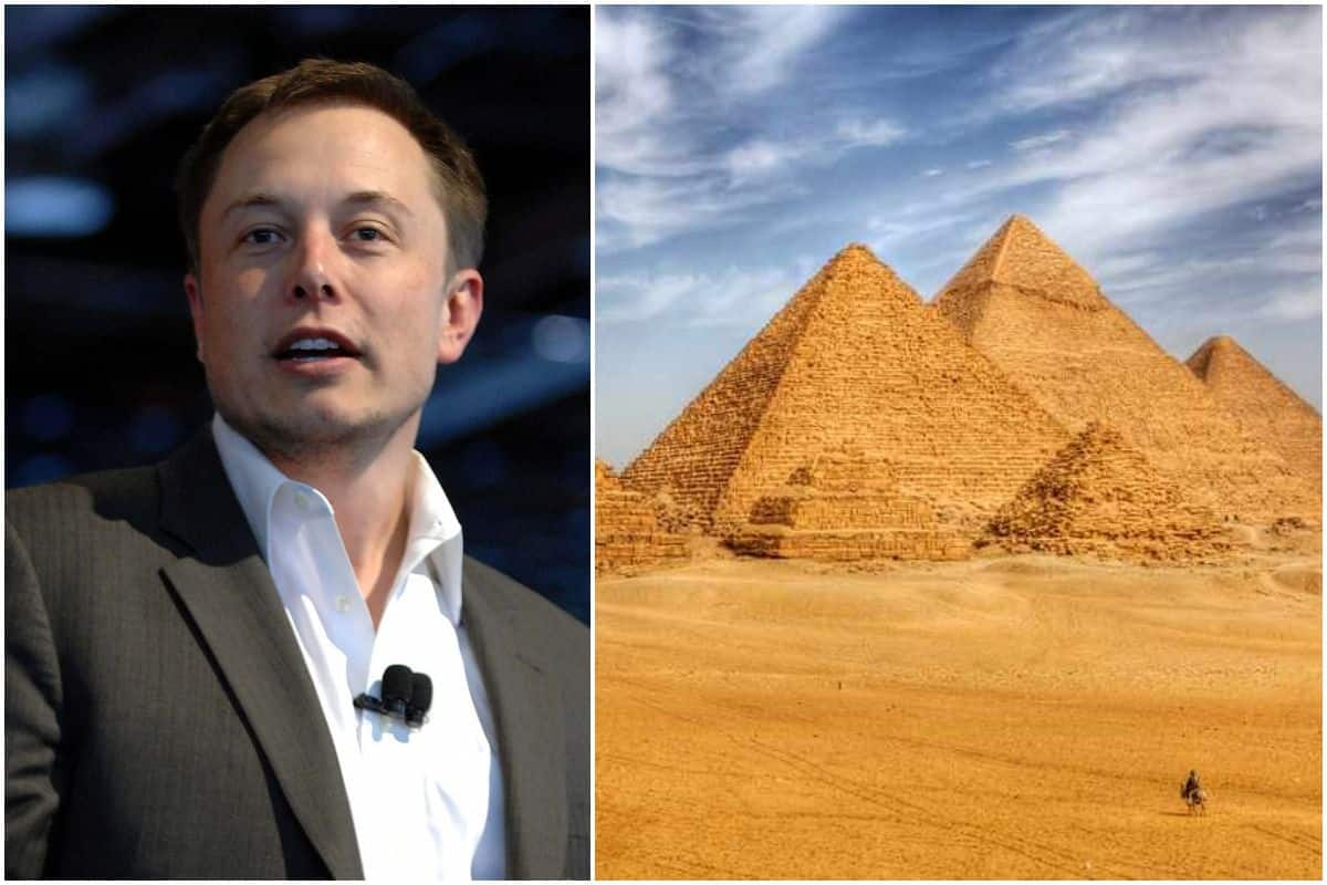 Elon Musk Claims That Pyramids Were Obviously Built By Aliens Gets Invite From Egypt To Visit Them India Com