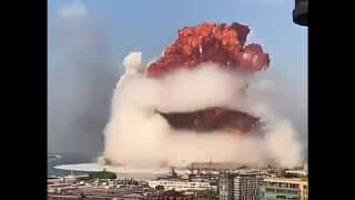 Lebanon: Dozen Killed, Hundreds Injured as Massive Explosion Rocks Beirut | Caught on Cam